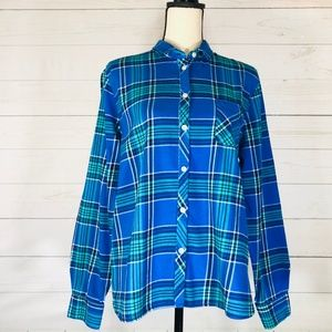 American Eagle Outfitters Flannel Shirt Size XL
